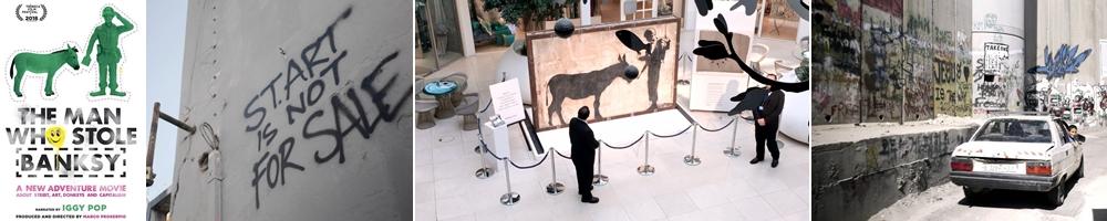 Fotogrammi dal film The Man who Stole Banksy di Marco Proserpio